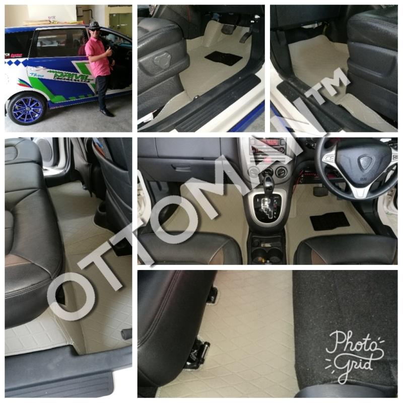 grey car mat