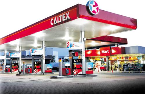 stesen minyak caltex